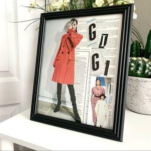 GiGi Hadid Handmade 8x10 Celebrity Collage
